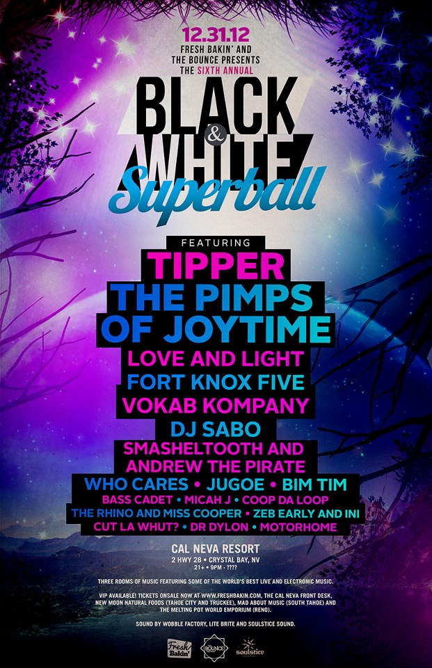 Black N White Superball