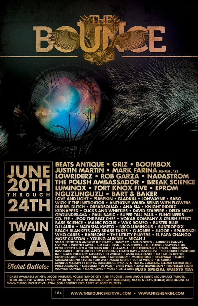 THE BOUNCE June 20-24th Twain California