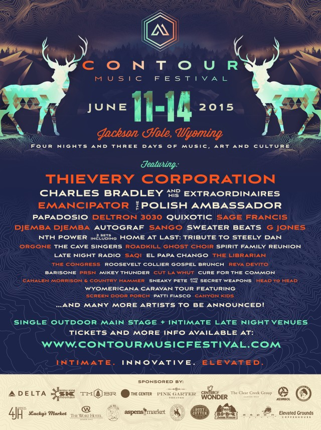 JUNE 2015  tickets on sale now   www.contourmusicfestival.com