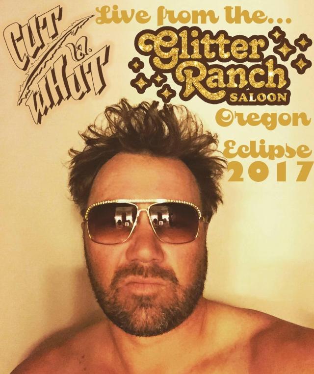 CUT GLITTER RANCH COVER